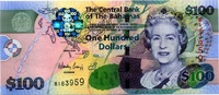 100 Dollars Serie 2009 Bahamas - COLORFUL - 1/1-  195,00 EUR  +  6,50 EUR shipping