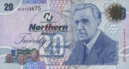 20 Pounds 06.11.2005 Nord-Irland P.207a/20...