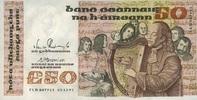 50 Pounds 05.11.1991 Irland P.74b/1991 unc/kassenfrisch  506.10 US$ 450,00 EUR  +  17.99 US$ shipping
