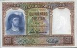 500 Pestas 25.4.1931 Spanien P.84 unc/kassenfrisch  115,00 EUR  zzgl. 4,50 EUR Versand