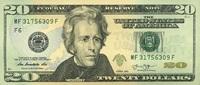20 Dollars Serie 2013 USA - Atlanta - unc/...