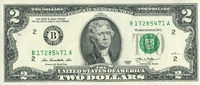 2 Dollars Serie 2013 USA - New York - unc/kassenfrisch  3,95 EUR  +  6,50 EUR shipping