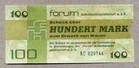 100 Mark 1979 DDR-Forum  als Beleg-Stück  9,00 EUR  +  6,50 EUR shipping