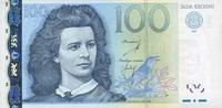 100 Krooni 2007 Estland  unc/kassenfrisch