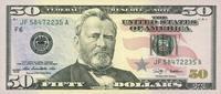 50 Dollars Serie 2009 USA - Atlanta - P.534-F unc/kassenfrisch  75,00 EUR  +  6,50 EUR shipping