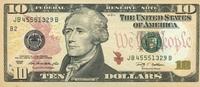 10 Dollars Serie 2009 USA - New York - P.532-B unc/kassenfrisch  19,95 EUR  +  6,50 EUR shipping