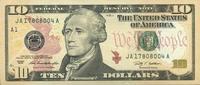 10 Dollars Serie 2009 USA - Boston - P.532-A unc/kassenfrisch  19,95 EUR  +  6,50 EUR shipping