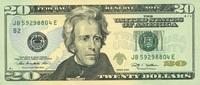 20 Dollars Serie 2009 USA - New York - P.533-B unc/kassenfrisch  32,00 EUR  +  6,50 EUR shipping