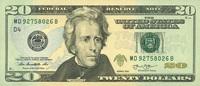 20 Dollars Serie 2013 USA - Cleveland - Neu 2013   32,00 EUR  +  6,50 EUR shipping