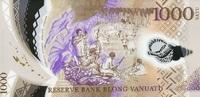 1.000 Vatu (20)14 Vanuatu - New Design - 2014- Polymer - unc/kassenfrisch  18,50 EUR  +  6,50 EUR shipping
