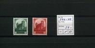 2 Werte 1934 Deutsches Reich(1934/1935) - ...