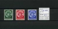 3 Werte 1933 Deutsches Reich(1931/1933) - ...