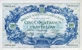 500 Francs/100 Belgas 01.5.1943 Belgien  au