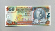 50 Dollars ND(2000) Barbados - Portrait Pr...
