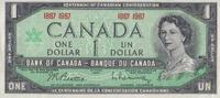 1 Dollar 1967 Canada Pick 84a unc/kassenfr...