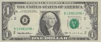 1 Dollar  USA Pick 496b unc