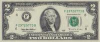 2 Dollars  USA Pick 497-F unc