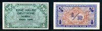1/2 Mark 1948 Bank Deutscher Länder Ros.230a /2 Mark 1948 unc/kassenfri... 146.21 US$ 130,00 EUR  +  17.99 US$ shipping