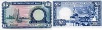 5 Pounds ND(1965-70) GAMBIA P.3a unc/kassenfrisch  430,00 EUR  +  6,50 EUR shipping