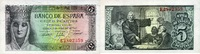 5 Pesetas 13.2.1943 Spanien P.127a unc/kassenfrisch  150,00 EUR  zzgl. 4,50 EUR Versand