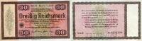 30 REICHSMARK 28.8.1933 Wertpapiere / Steuergutscheine - KONVERSIONSKAS... 199,00 EUR  zzgl. 4,50 EUR Versand