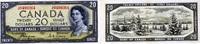 20 Dollars 1954 Canada P.70a unc/kassenfrisch  450,00 EUR  zzgl. 4,50 EUR Versand