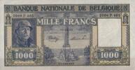 1.000 Francs 1945 Belgien Pick 128b unc  300,00 EUR  zzgl. 4,50 EUR Versand