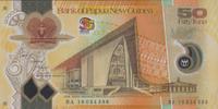 50 Kina 2010 Papua New Guinea P.42/2010 unc/kassenfrisch  33,00 EUR  +  6,50 EUR shipping