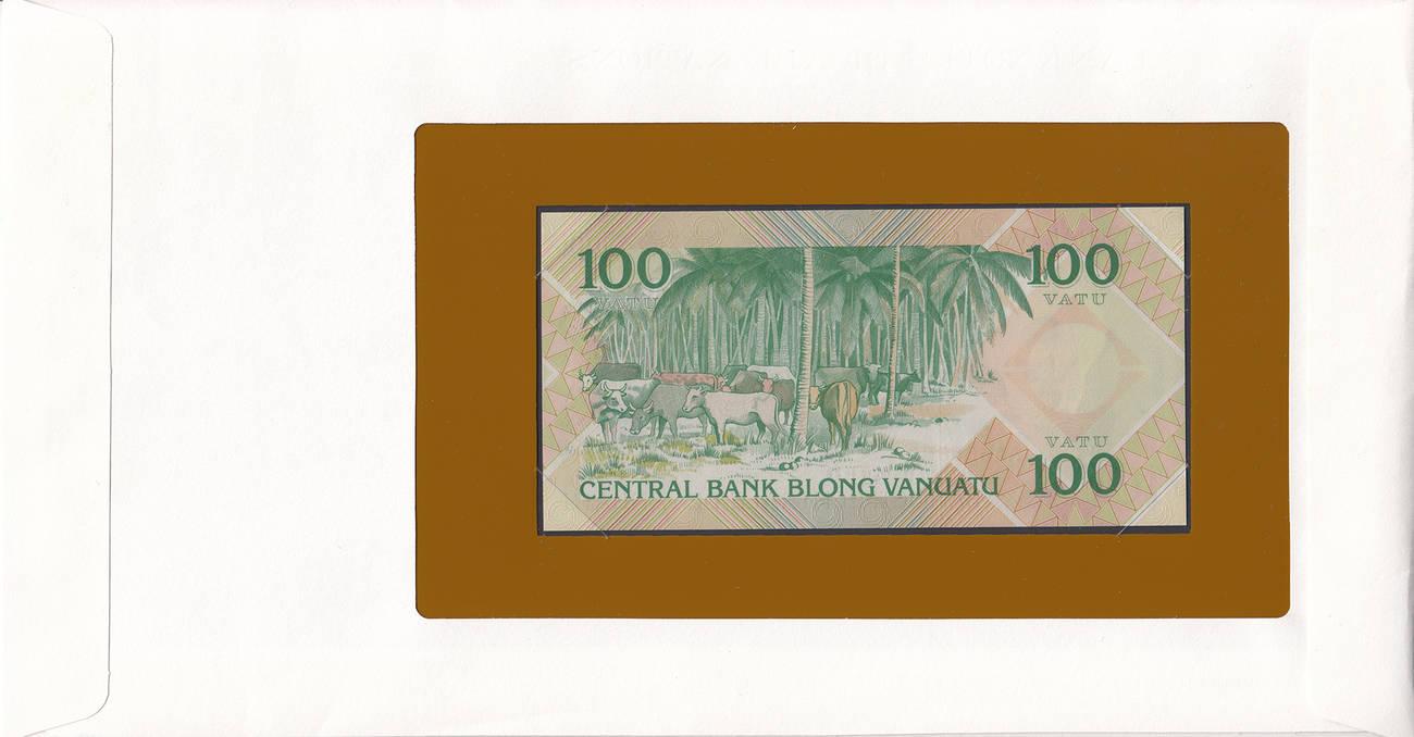 UNC Vanuatu 100 vatu 1982