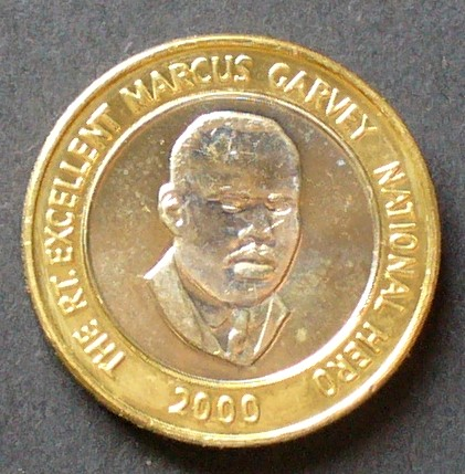 20 Dollars 2000 Jamaika S 131 Bime Staatswen Marcus Garvey Unc Ma