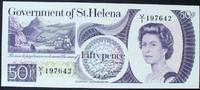 50 Pence ND(1979) St. Helena P. 5 a / Sign...
