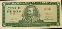 5 Pesos 1988 Kuba P. 103 d kfr