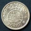 20 Escudos 1952 Mosambik - Überseeprovinz ...