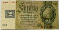 50 DM Kupon 1948 DDR Ros. 337 b, K / C I