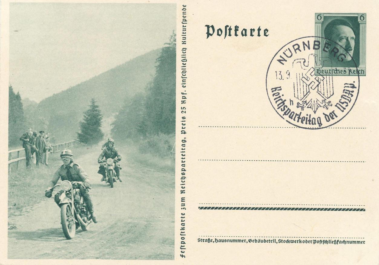 Немецкие почтовые открытки