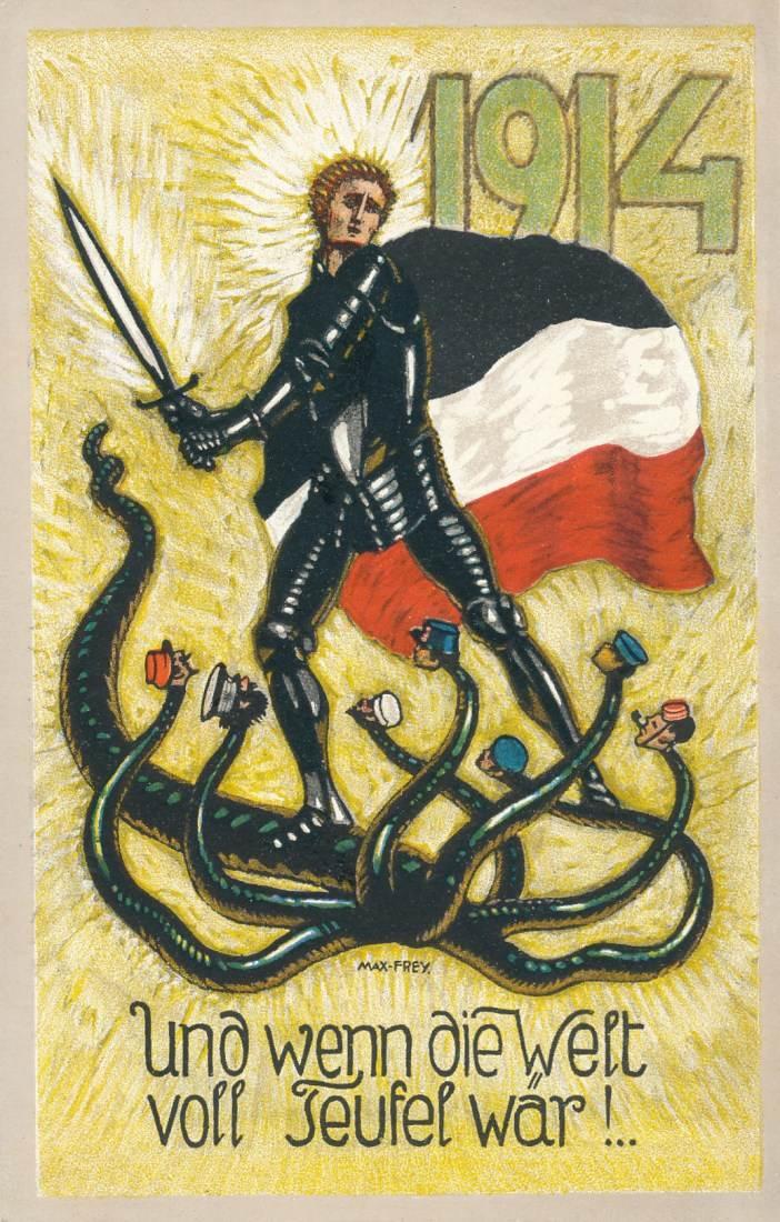 Karte Deutsches Reich 1914.Ansichtskarte 1914 Deutsches Reich Propaganda Karte I Weltkrieg Ungelaufen