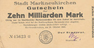 10 Milliarden Mark 1923 Deutsches Reich, S...