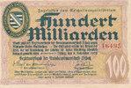 100 Milliarden 1923 Deutsches Reich, Sachs...