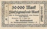50000 Mark 1923 Deutsches Reich, Sachsen, ...