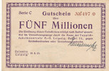 5 Millionen Mark, 1923 Deutsches Reich, Sa...