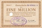 1 Million Mark, 1923 Deutsches Reich, Sach...