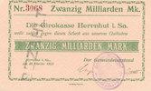 20 Milliarden Mark 1923 Deutsches Reich, S...