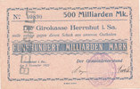 500 Milliarden Mark 1923 Deutsches Reich, ...