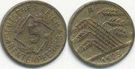 5 Rentenpfennig 1923 Deutsches Reich,Weima...