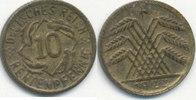 10 Rentenpfennig 1923 Deutsches Reich,Weim...