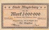 3 Millionen Mark 1923 Deutsches Reich,Prov...