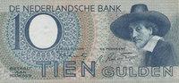 10 Gulden 1944 Niederlande  leicht gebrauc...