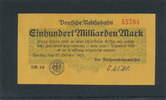 100 Milliarden Mark 1923 Deutsches Reich,W...