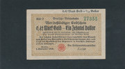 0,42 Mark Gold 1923 Deutsches Reich,Weimar...