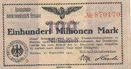 100 Millionen Mark, 1923 Deutsches Reich,W...